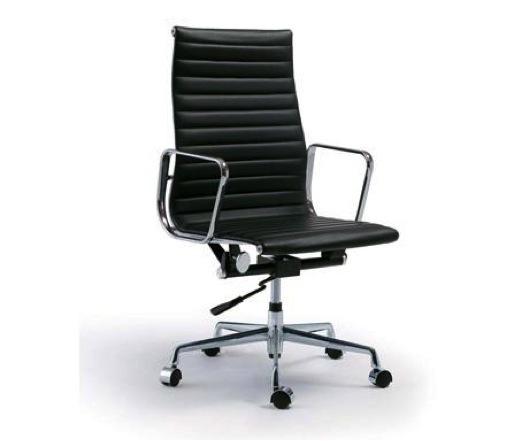 eames bureaustoel ea119 replica pu kunstleder morq